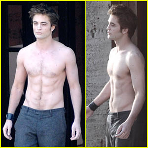 robert-pattinson-new-moon-shirtless