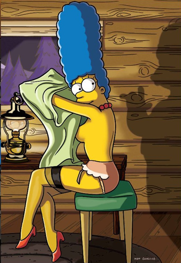 Marge simpson nackt