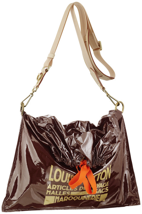 louis vuitton raindrop besace trash bag daily gossip
